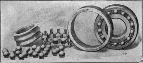 ساخت اولین بلبرینگ ها