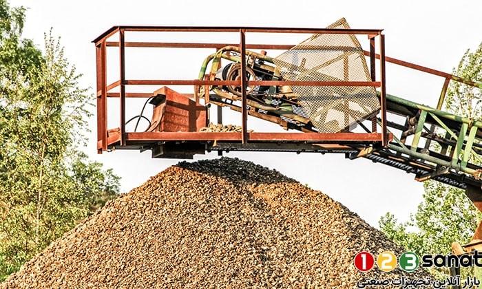 کاربرد نوار نقاله در صنعت کشاورزی