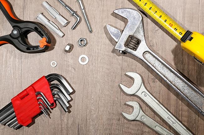 انواع آچار و ابزارآلات دستی