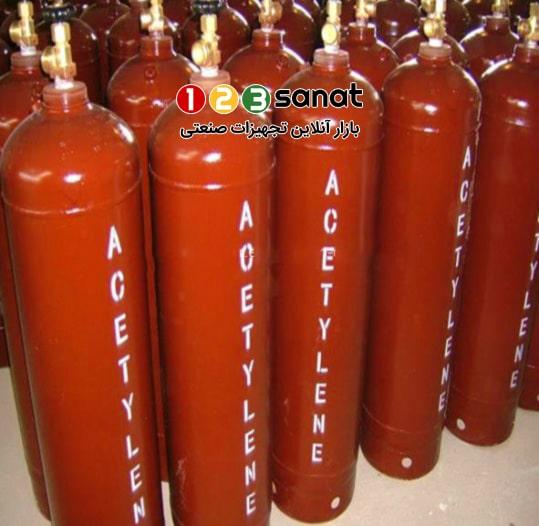 گاز استیلن برای فرایند جوشکاری